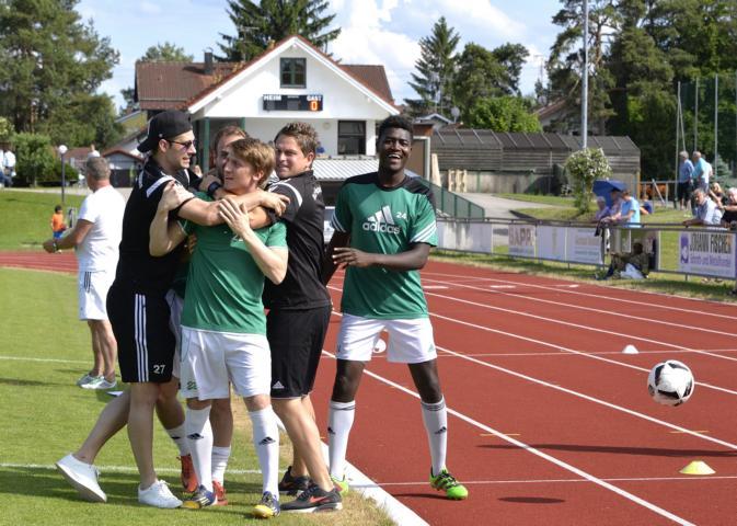 Die Bilder vom Relegationsspiel gegen Landsberg